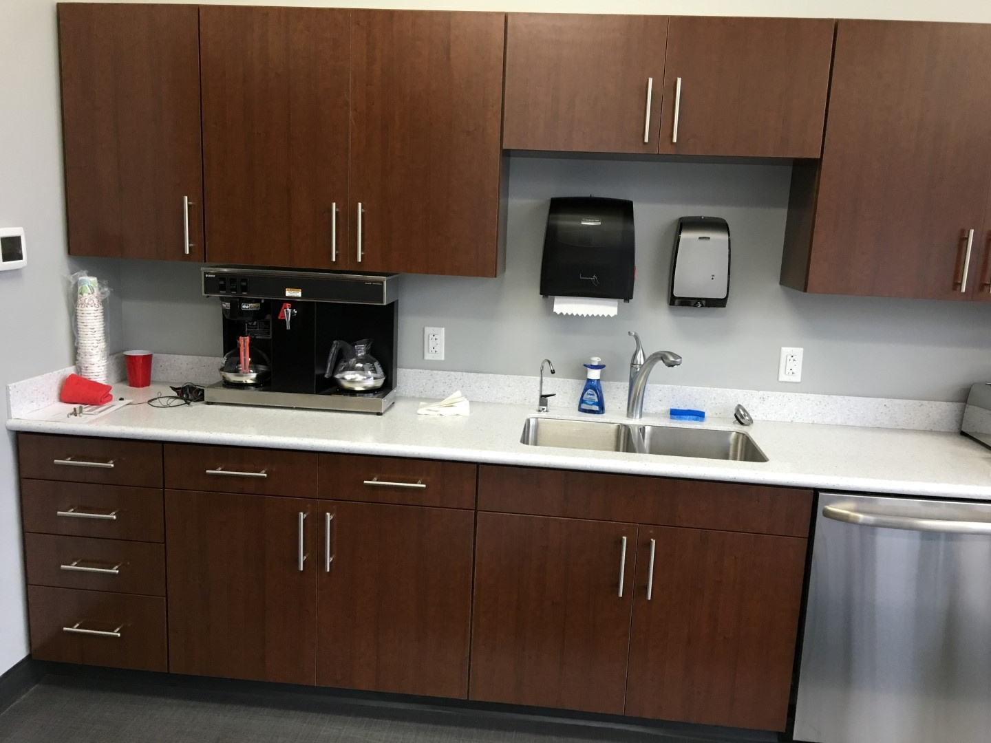 Laminated Breakroom Cabinets Large