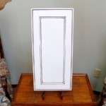 Flat Panel with Beaded Edges_ Painted and Glazed2