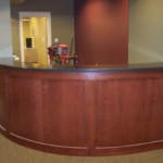 Reception Wall Stained (Large)
